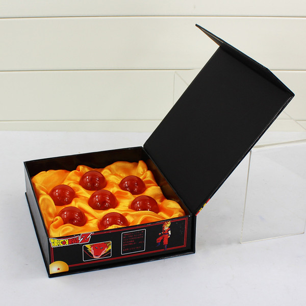 New In Box DragonBall 7 Stars Crystal Ball 3.5cm Set of 7 pcs Dragon Ball Z Balls Complete set Free Shipping