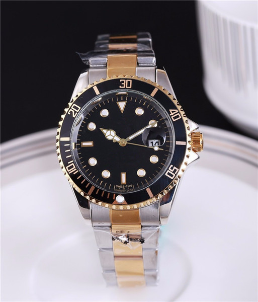 automatic date luxury fashion men and women of the steel belt movement quartz clock men watch