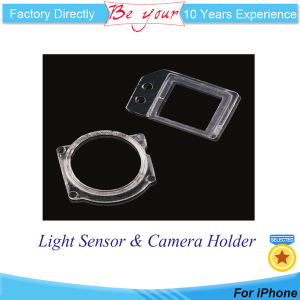 High Quality Front Proximity Light Sensor Facing Camera Plastic Holder Clip Ring Bracket for iPhone 5 6G 6Plus 6S 6S plus 7G 7plus