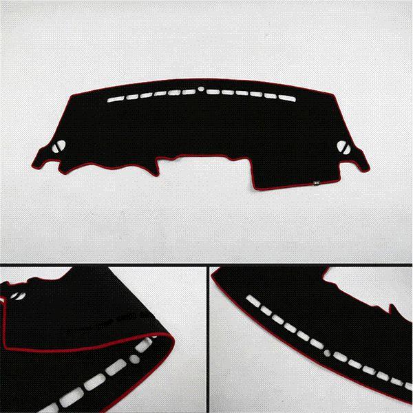 Car Dashboard Pad Instrument Platform Desk Avoid Light Mats Sticker For Kia Sportage R 2011-2015 Car Styling 1Pc