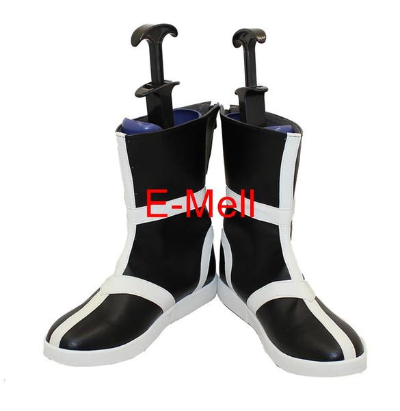 Wholesale-Cosplay BLEACH Kurosaki Ichigo Men's Shoes High Quality Leather Boots Custom 6843