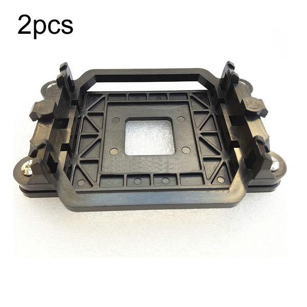 Wholesale- 2pcs Excellent Quality Brand New CPU Cooler Cooling Retention Bracket Mount For AMD Socket AM3 AM3+ AM2 AM2+ 940