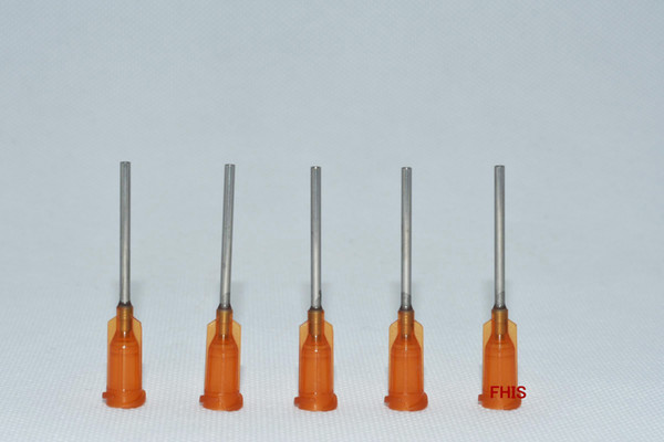 15GA 1-inch tubing length,Precision Blunt S.S. dispensing Tips 100pcs/pack