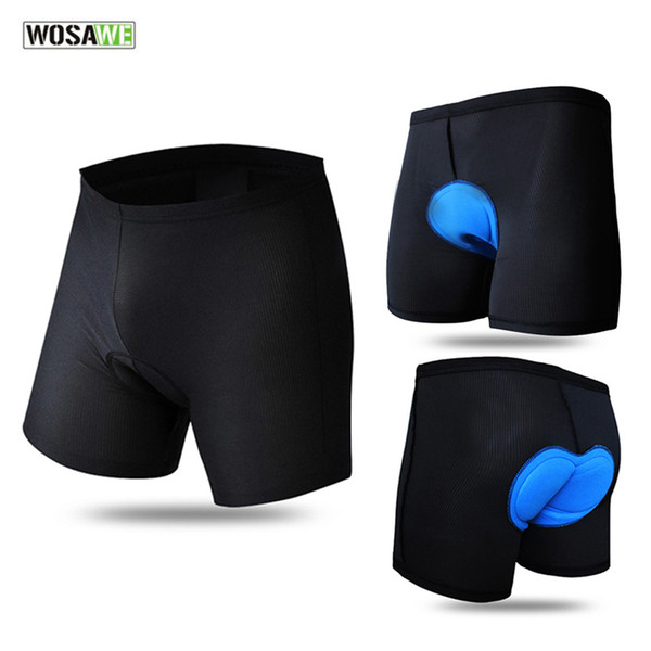 New Men Cycling Shorts Mountain Road Bicycle Bike MTB Shorts 2016 Quick Dry Breathable 3D Pad Cycle Underwear Clothing K2004