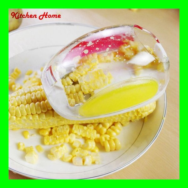 Novelty Mouse Design Kitchen Corn Stripper Corn Peeler Slicer Cutter Mini Cob Remover Device Stripper Thresher Shaver Knife Cut
