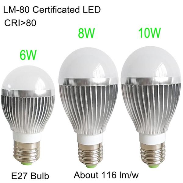 Cuerpo 8W De 360 Compre 116LM Brillante Aluminio E27 Lámpara Alto grados Bombillas Luces CRI80 Globo W La De 10W Led Bombillas De LED Ángulo 6W oCBWdxre