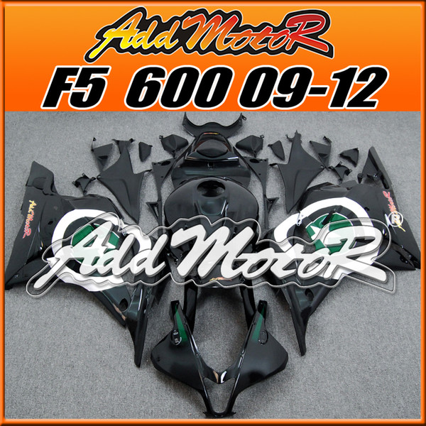 Addmotor Best Selling New Arrival Injection Mold Fairings Body Kit Fit Honda F5 CBR600RR 2009-2012 Black White Green H6950 +5 Free Gifts