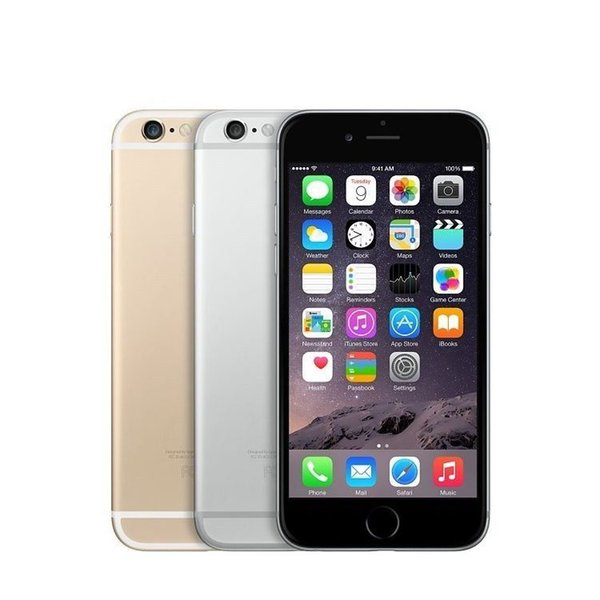 100% Original Refurbished Apple iPhone 6 iphone 6 plus 4.7 inch iOS Unlocked Phone gold Grey Silver in stock