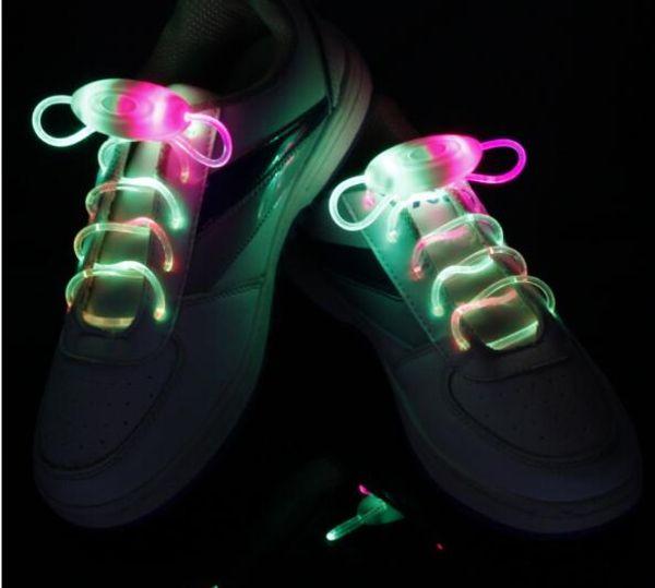 500pcs (250 pairs) LED Shoelaces Shoe Laces Flash Light Up Glow Stick Strap Shoelaces Disco Party Skating Sports Glow Stick