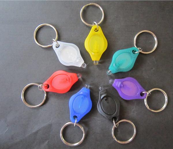 LED Mini Euro banknote diamond Keychain Mini Flashlight Keychain light emitting promotional gifts