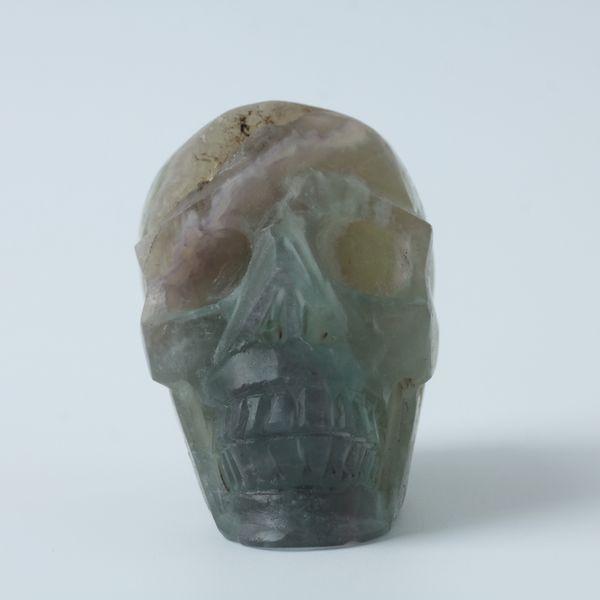 Kristallschädel Quarz Kristal Schädel Carving Reiki Healing Stein Großhandels