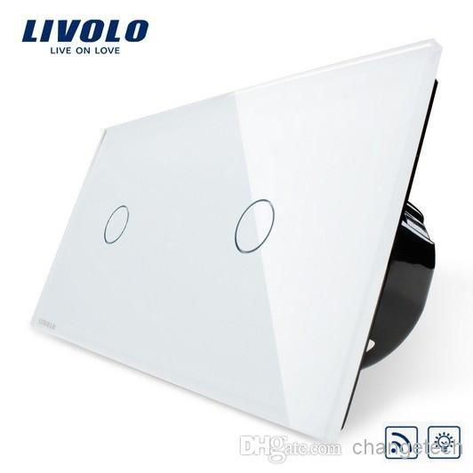 Multi-function,Ivory White,Dimming Remote Control Touch Screen,Tempered Glass Panel,Light Wall Switch, VL-C701DR-11/VL-C701DR-11