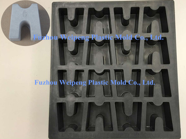 best selling Concrete Cover Blocks Spacers Plastic Mold for Building Construction (MD063516-YL)