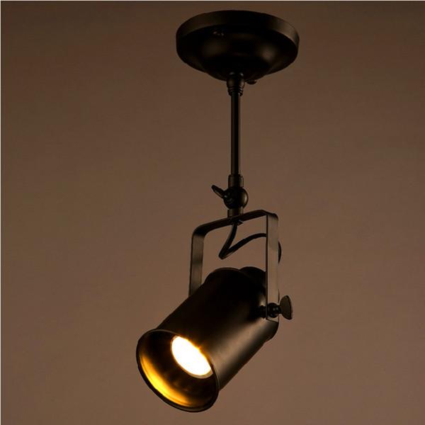 A30 Loft Track Spot Hierro De Bar LED Ropa Lights Vintage Lámparas Compre Spotlight 16 De Forjado Rod American Techo Style Industrial Iluminación kuPZOiXT