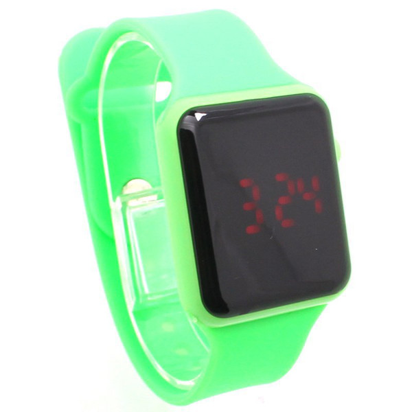 Factory direct supply of Korean character LED mirror student fashion watch wholesale trade selling models