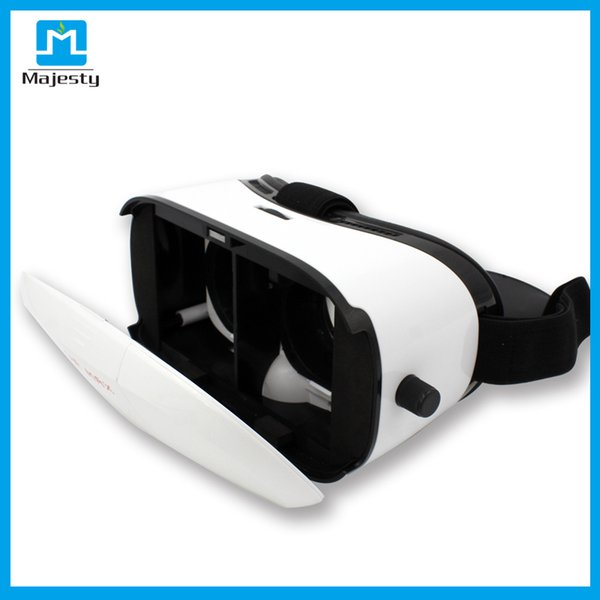 New Virtual Reality 3d vr glasses for iPhone 6 6s Plus Samsung HTC Sony and Other Android Smartphones White vr box 3d glasses