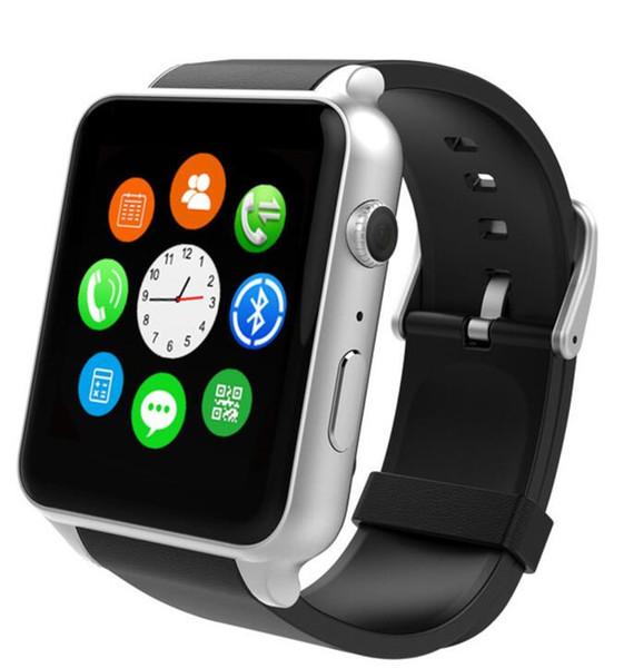 eletrônicos inteligentes GT88 NFC Bluetooth assistir relógio dos homens IOS Android com 2.0M Camera / Call lembrar / monitor de sono / pedômetro pk kw88