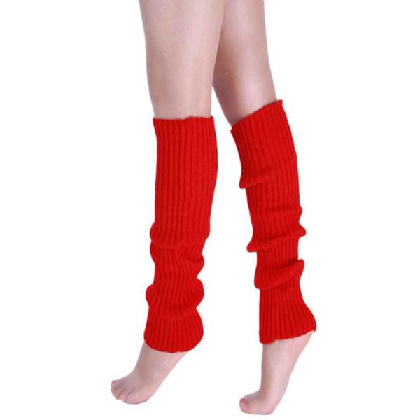 Wholesale-Best seller New Fashion Women Warm Winter Classic Leg Warmers Knitting Socks Jan18