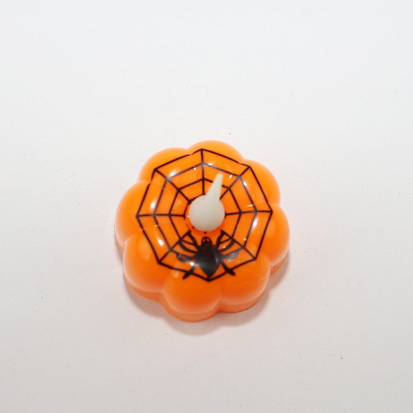LED Mum Lamba Yaratıcı Kabak Cadı Örümcek Web Modelleme Gece Işık Cadılar Bayramı Sahne Elektronik Zanaat Ev Dekor 2 5zl F R
