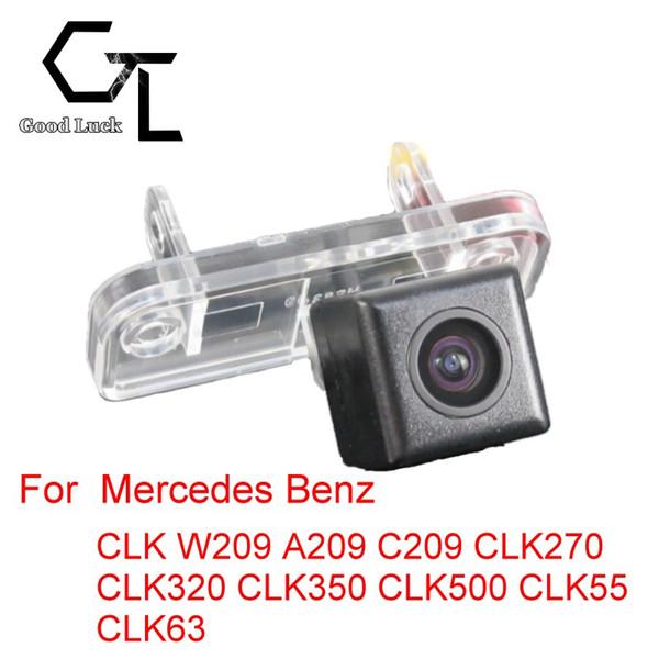 For Mercedes Benz CLK W209 A209 C209 CLK270 CLK320 CLK350 CLK500 CLK55 CLK63 Wireless Car Auto Reverse CCD HD Rear View Camera