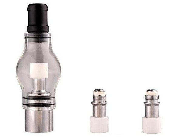 2017 Bulb Atomizer Wax Glass dome glass globe attachment Glass Pyrex for eGo t Battery E Cigarettes Dry Herb Wax Vaporizer