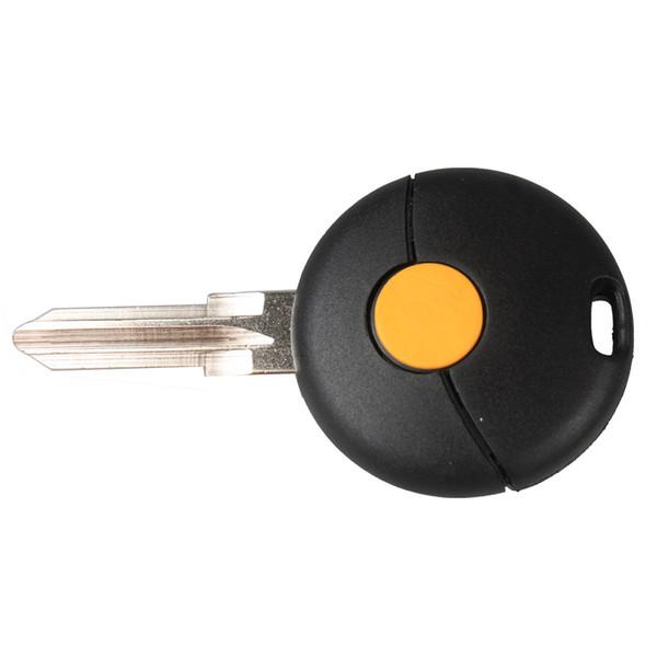 Garantido 100% 1 Botão Substituição Do Carro Keyless Fob Remoto Chave Shell Caso Chave Para MERCEDES BENZ Smart Fortwo 1998-2012 Frete Grátis