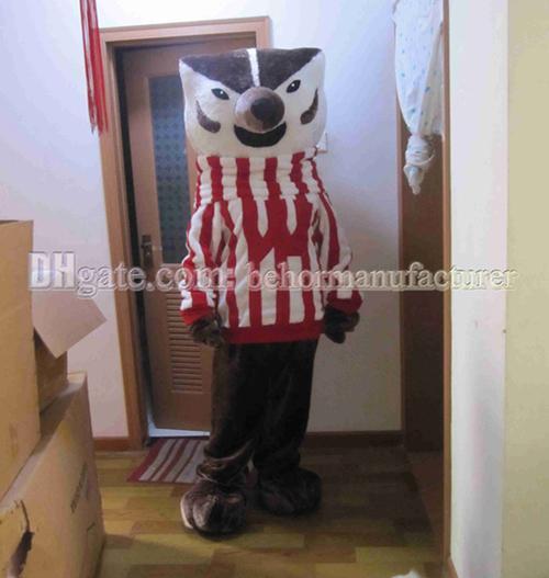 High-quality plush striped baseball Mr. Fox mascot suit adult type of cheap sales, free shipping fox mascot.