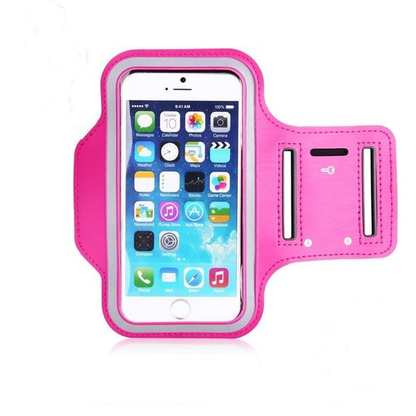 Wholesale-Waterproof Gym Sports Running Armband Arm Band Pouch Phone Case Cover + Key Holder for Apple iPhone 6s Plus/ 6 Plus 5.5 inch
