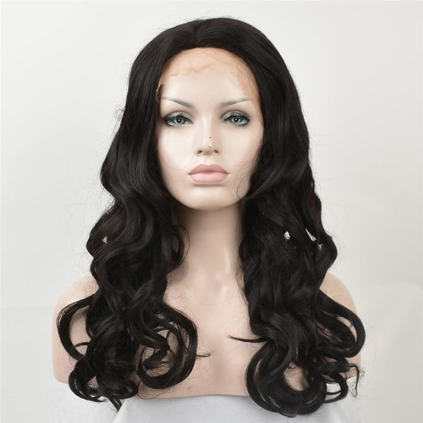 kabell African American fashion Fashion wigs lace front wigs Black curls hair long 26 inch lace front wigs White women Big wave hairstyle