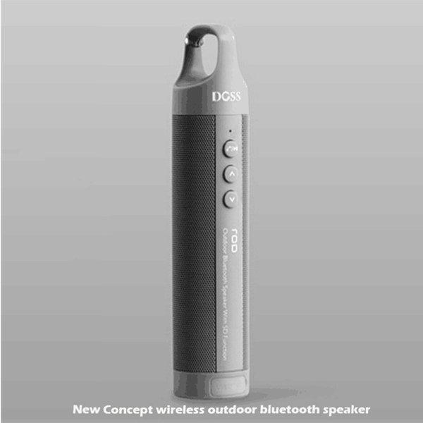 Bluetooth Speaker grigio portatile