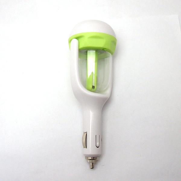 2016 Nanum Car Plug Air Humidifier Purifier Vehicular essential oil ultrasonic humidifier Aroma mist car fragrance Diffuser DHL 20pcs
