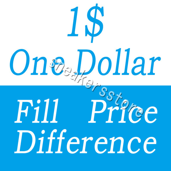 top popular One Dollar Fill Price Difference payment for DHL EMS different extra cost diferent shipping fee etc 2019