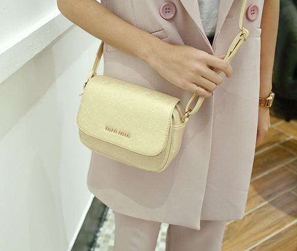 New women printing word single shoulder messenger hand bag female fashion trend evening small clutch bag no10