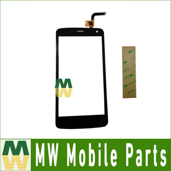 Wholesale- 1piece/ Lot 5.0'' For ZTE Blade L2 Plus L370 C370 Touch Screen Digitizer Black Color with 3m sticker