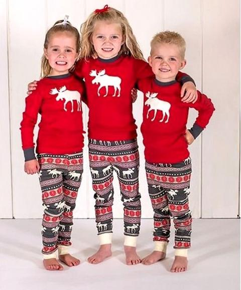 top Christmas kids Family Matching Pajamas Set deer printed sets Adult  fashion rompers girls boys Nightwear casual outfit 2-9years free ship - Kids Matching Christmas Outfits Coupons, Promo Codes & Deals 2019