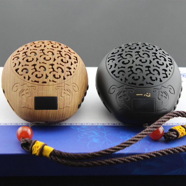 2019 Luxury Wooden Fish Style Buddha Machine Mini Portable Mp3 Sound Card  Speakers Buddhist Music Player Quran Player Bible Player From Jdwyl1986,