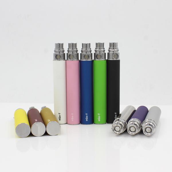 Wholesale Ego t Battery Ego t batteries Ego Batteries 510 battery Atomizer Clearomizer Vaporizer Mt3 CE4 CE5 CE6 650 900 1100mAh 1300mah