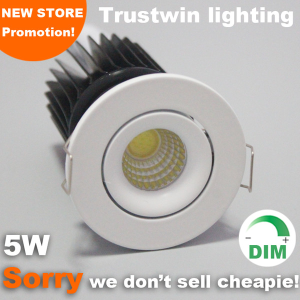 best selling Foyer living sitting recessed micro Downlights miniature small adjustable outdoor ceiling mini 5W LED downlight COB dimmable down light
