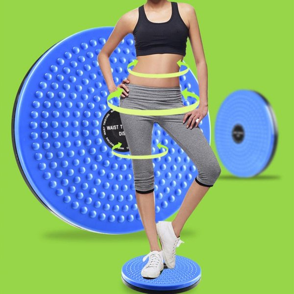 Wholesale- Practical Twist Waist Torsion Disc Board Magnet Aerobic Foot Exercise Yoga Training Health Twist Waist Board Gym Fitness Tools