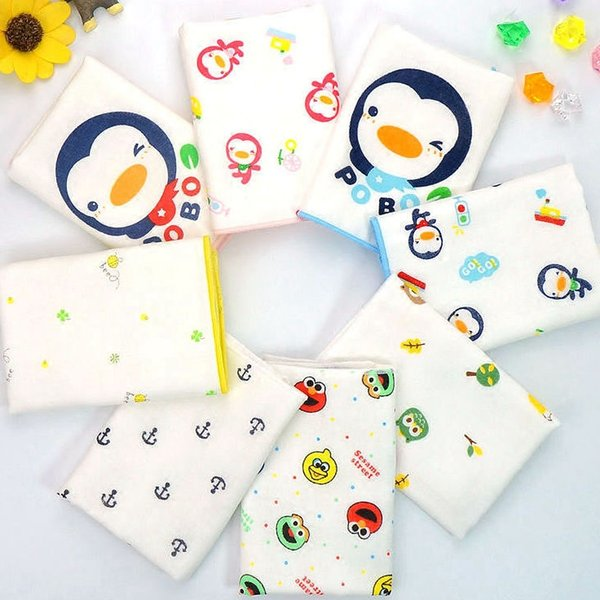 Wholesale- Baby Burp Cloths Organic cotton gauze Muslin activity baby bib bandanas Baby Bibs soft breathable Newborns Towel scarf