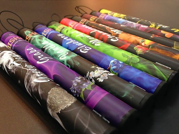 Hot Sales! Shisha pen Eshisha Disposable Electronic cigarettes E cigs 500 puffs 30 type Various Fruit Flavors Hookah pen