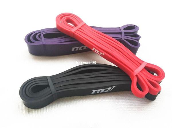 Principiante Set de 3 piezas Pull Up bandas Banda de resistencia del edificio del cuerpo Crossfit Exercise Loop bandas Ancho1.3cm, 2.1cm, 3.2cm