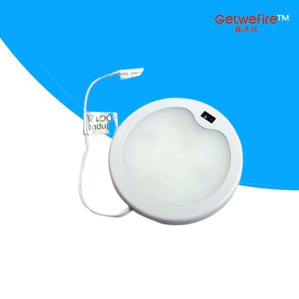 Sensore IR incorporato DC 12v 3W con LED tipo 33pcs 3014, LED Puck / Luce per cabinet, Faretto LED