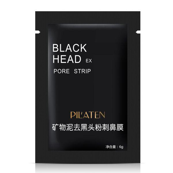 PILATEN Face Care Facial Mineral Conk Nose Blackhead Remove Mask Cleanser Deep Clean Blackhead EX Pore Strip Free by DHL