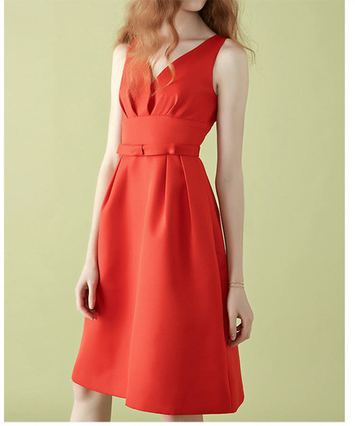 Red Celebrity Short Dresses Lovely Cocktail Dresses Formal Wear For Women Sweetheart Evening Gowns Venta Ropa Online Traje Fomal Mujer