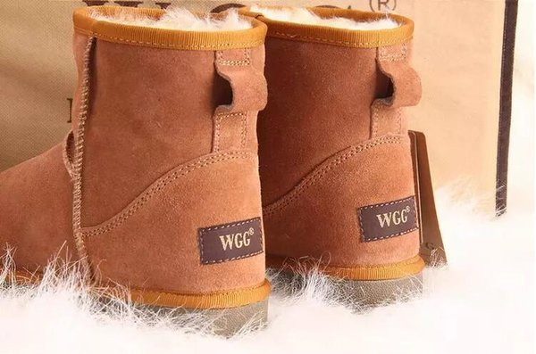 2018 High Quality WGG Women's Classic Mini Short boots Tall Boots Womens Boot Snow boots Winter Leather boot US SIZE 5---13