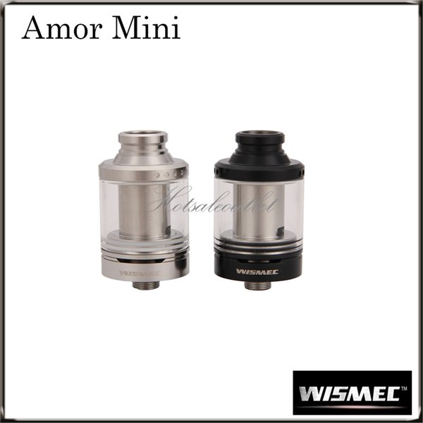 Wismec Amor Mini Atomizer with The Hidden the Airflow Control Ring Amor Mini 2 ML Tank can Perfectly Match the Reuleaux RX75 Mod100%Original