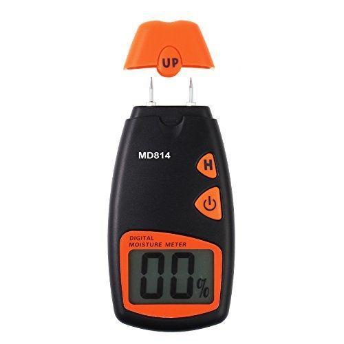 best selling Digital Wood Moisture Meter, Proster Handheld MD814 LCD Moisture Tester Damp