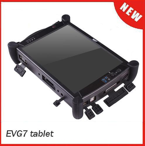 EVG7 DL46/HDD500GB/DDR2GB Diagnostic Controller Tablet PC EVG7 DL46(Can works for BMW ICOM A2 / MB Star C4) EVG7 Auto Diagnostic Tool