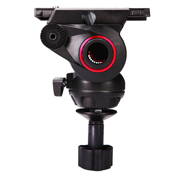 miliboo MYT803 camera head 8kg Iron Tower tripod/monopod Aluminum Video Camera Heavy Duty Tripod Fluid Head 75mm Bowl